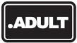 Logo of Domain .adult
