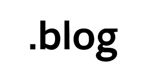 Register .blog-Domains starting from  6.58