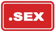 .sex domain logo