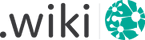 Register .wiki-Domains starting from 0.00