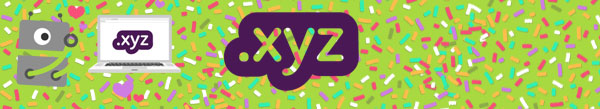 Banner for .xyz promo - only €1.75